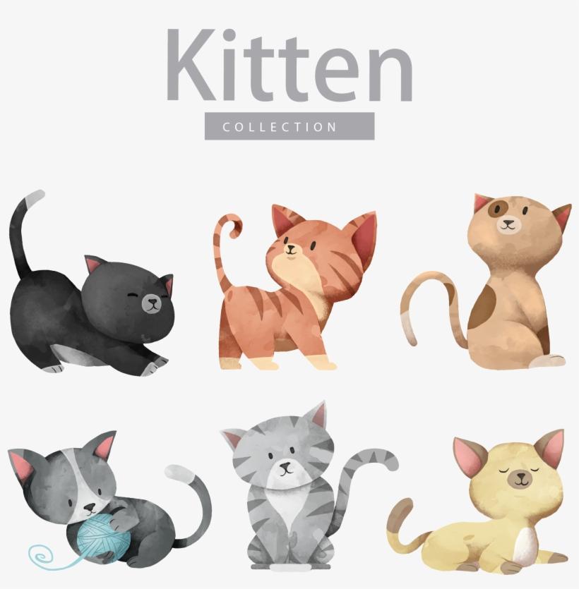 Cat Dog Kitten Illustration Vector Dog Cat Transparent Png 1874x1883 Free Download On Nicepng