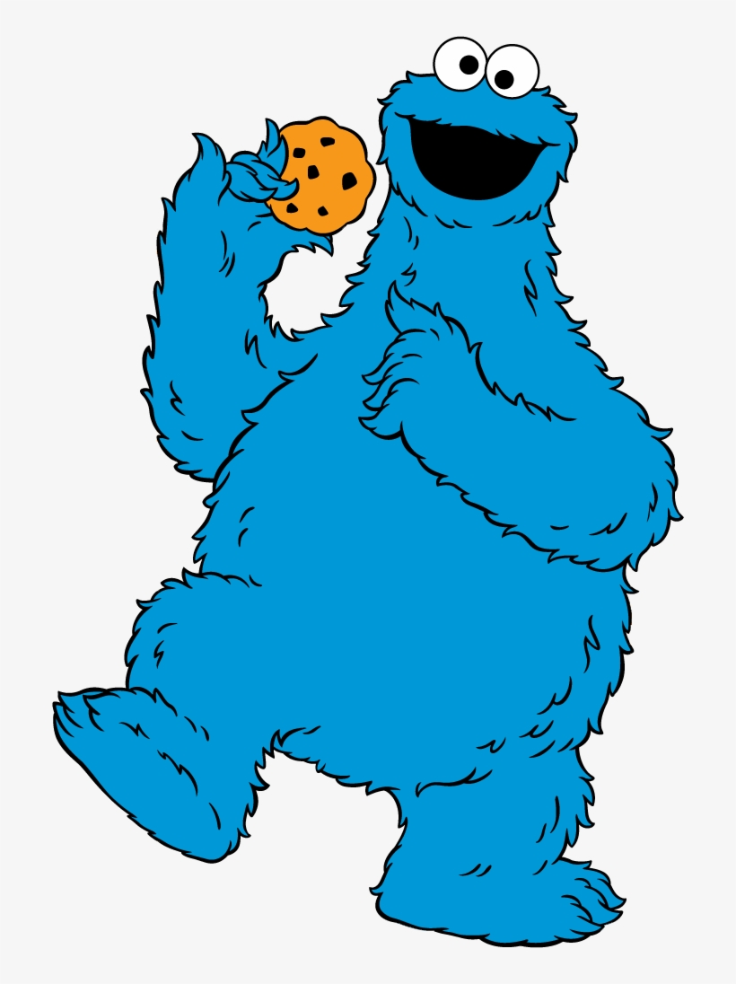 Cookie Clipart Cokie Cookie Monster Clipart Transparent