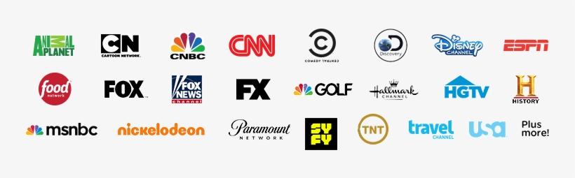 Top Channel Logos For Contour Tv Including - Logos Transparent PNG