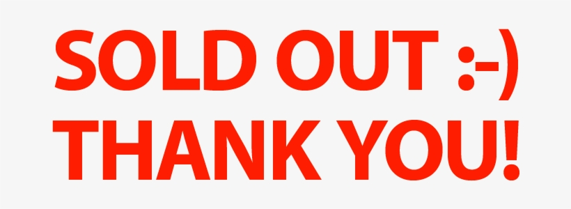 Soldout - Thank You For Reading Gif Transparent PNG - 1093x303