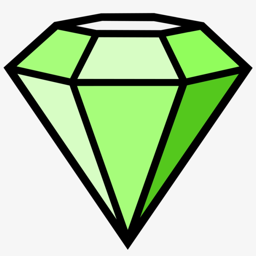 Diamond green. By danakatherinescully on deviantart