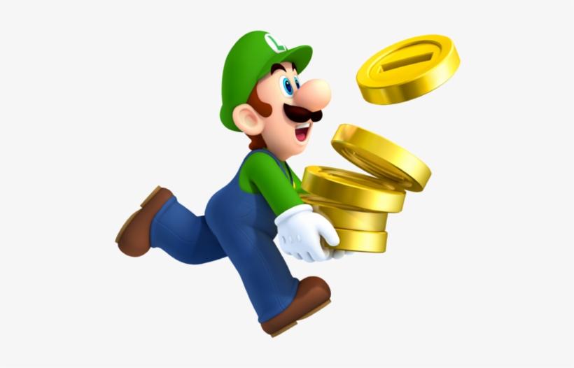 Luigi New Super Mario Bros 2 And Super Mario Characters New