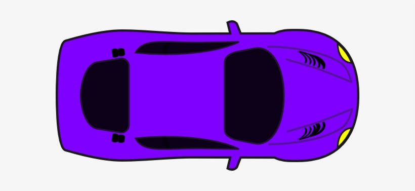 Purple View Clip Art At Clker Com Birds Eye View Car Png