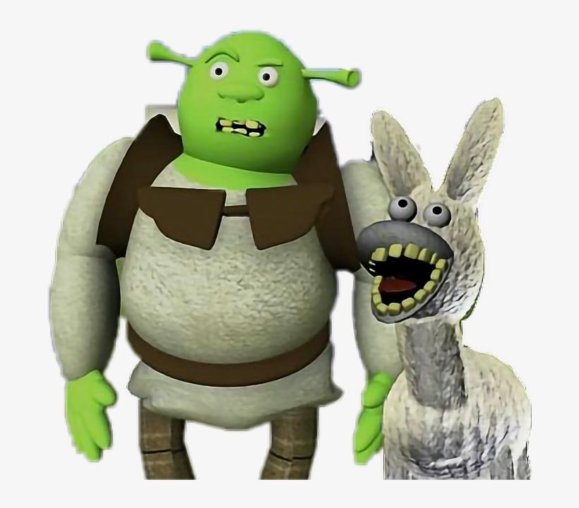 Shrek Shrekisloveshrekislife Meme Memes Funny Bad Donke Badly Recreated Animated Film Frames Transparent Png 686x640 Free Download On Nicepng