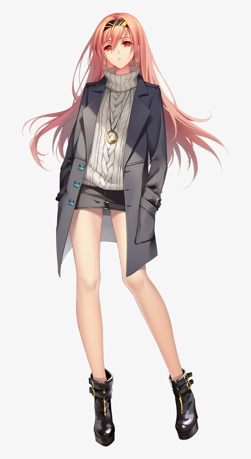Anime Girl Full Body Transparent PNG - 9x9 - Free Download on