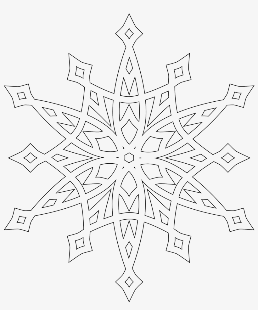 snowflake-coloring-pages | Crafts and Worksheets for Preschool ... | 985x820