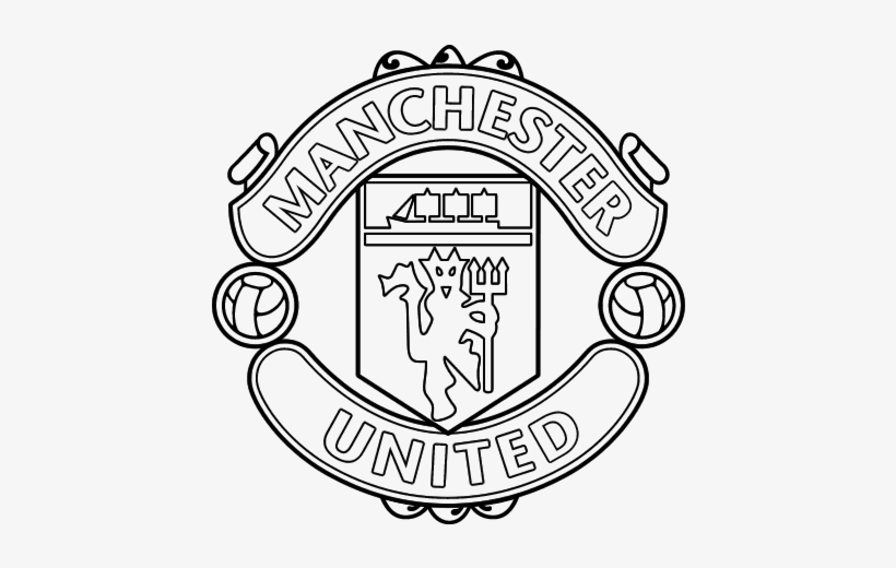 Manchester United Logo Clipart Manchester United Logo Manchester United Drawing Logo Transparent Png 600x470 Free Download On Nicepng