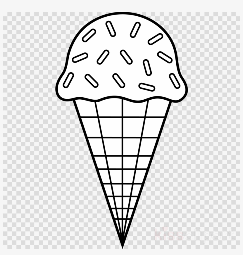 Ice Cream Coloring Pages Clipart Ice Cream Cones Sundae - Ice Cream Cone  Colouring Transparent PNG - 900x900 - Free Download On NicePNG
