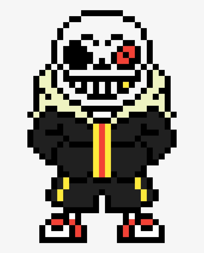 Underfell Sans Sprite V2 Illustration Transparent Png 1200x1200