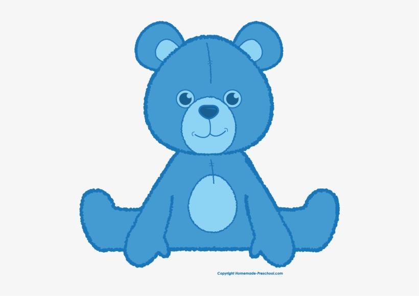 Bear blue. Teddy clipart png transparent