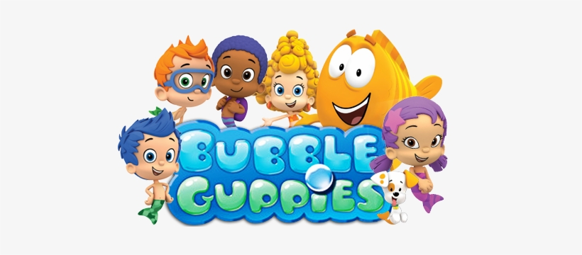 Bubble Guppies Logo Png - Bubble Guppies Logo Transparent PNG