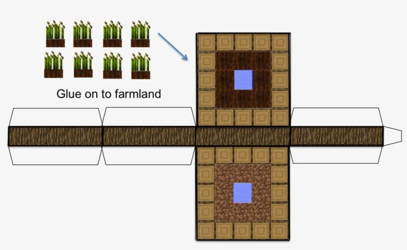 Minecraft Paper Blocks Home - Minecraft 3d Paper Blocks