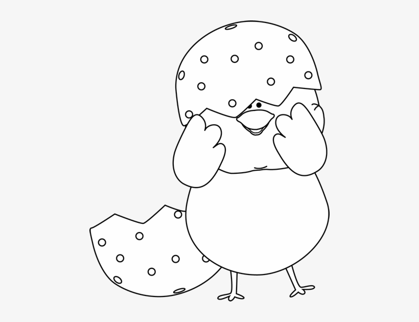 Church Clipart Black And White Easter Clip Art Black Chick Clipart