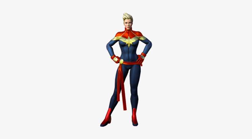 Carol Danvers From Marvel Heroes (video Game) - Marvel