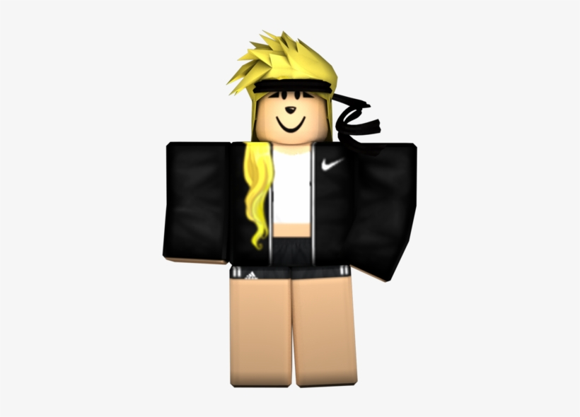 Roblox Girl Png Roblox Girl Transparent Background Transparent