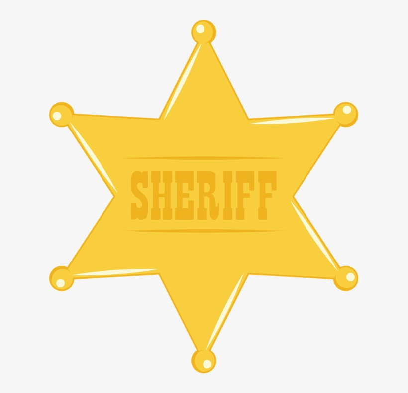 It is a picture of Printable Sheriff Badge pertaining to vector