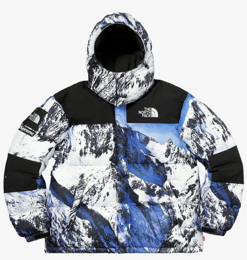 Supreme The North Face Baltoro Moutain Jacket Supreme North Face Baltoro Transparent Png 1018x929 Free Download On Nicepng