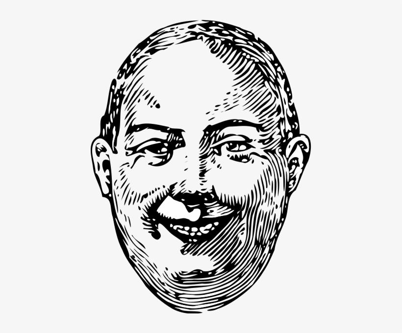 Fat Man Smile Clipart Transparent