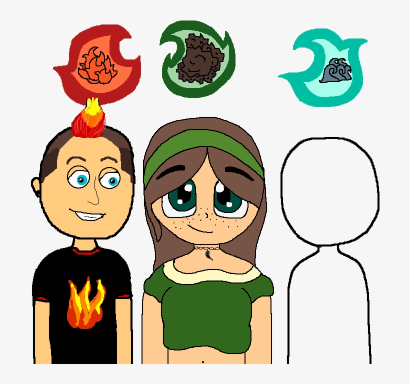 Create Your Own Elemental Character Cartoon Transparent Png 700x700 Free Download On Nicepng