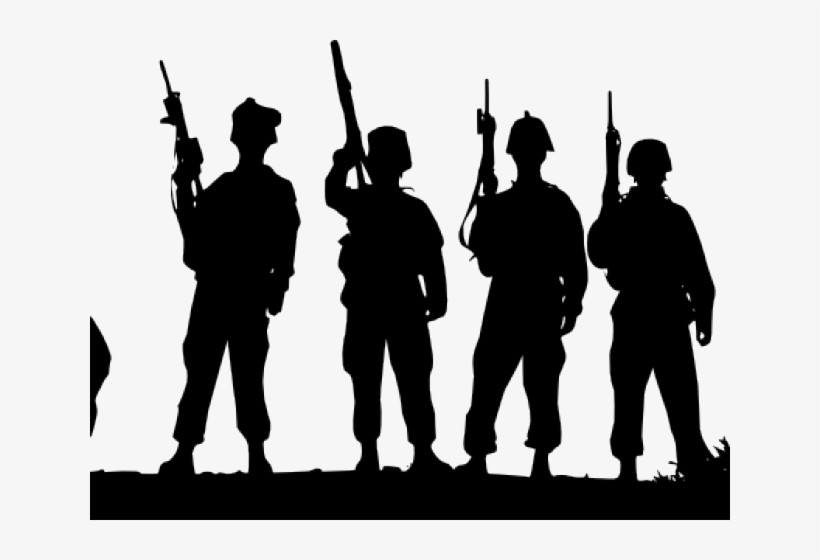 Soldier Clipart Ww1 - Army Soldier Svg Transparent PNG