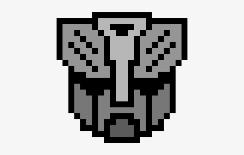 Autobots Minecraft Transformer Pixel Art Transparent Png