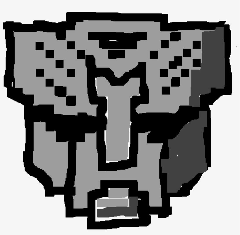 Autobot Pixel Art Transformers Optimus Prime Transparent