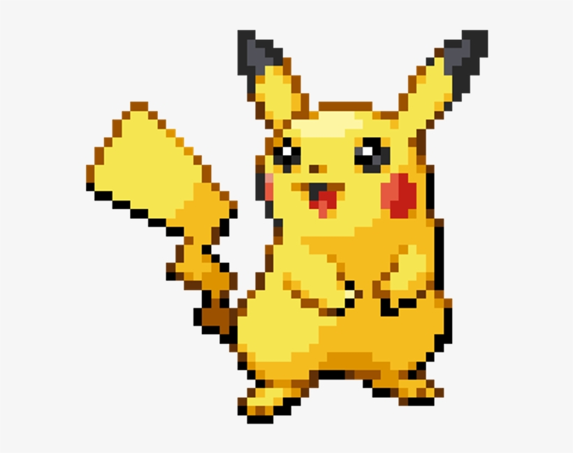 Cute Pikachu Pixel Art