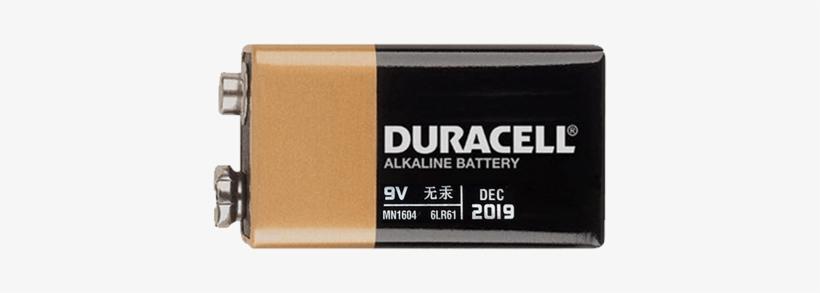Duracell 9v Battery - Hpx 16099600 : Duracell Alkaline