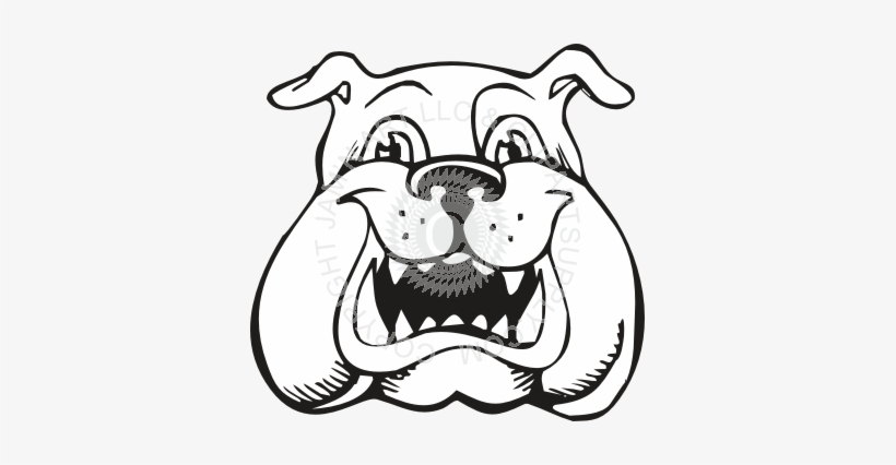 Bulldog Puppy - Bulldog Coloring Pages Transparent PNG - 361x346 - Free  Download On NicePNG