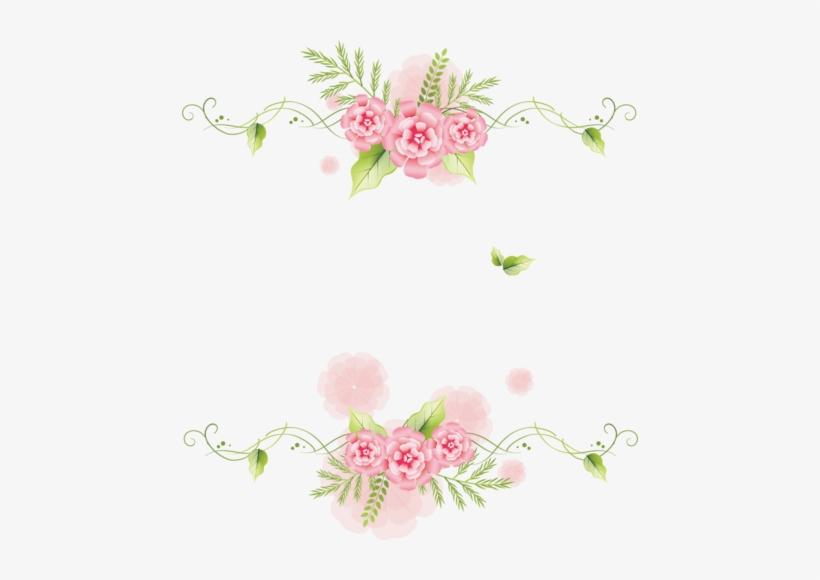 Scrapbooking Scrapbook Paper Watercolor Flowers Marcos De Flores Png Transparent Png 456x500 Free Download On Nicepng