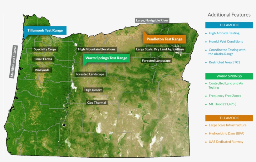 Map Of Oregon Mountains Ranges Images Photos With Map