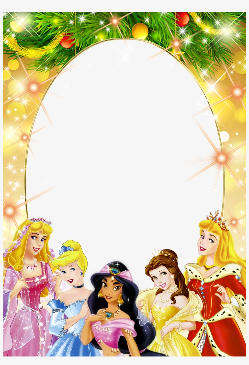 Frame Clipart Disney Princess Princess Birthday Frame