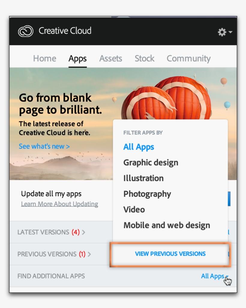Adobe Creative Cloud Transparent PNG - 965x1164 - Free