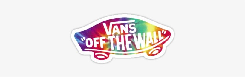 Rainbow Tie Dye Vans Logo From Redbubble Tie Dye Vans
