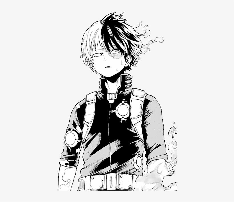 Shoto Passes The First Test Manga Todoroki Shouto Manga