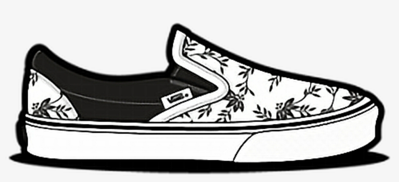 700d12cf52 Png Tumblr Shoe Vans Tumblr Freetoedit - Vans Slip On Drawing ...