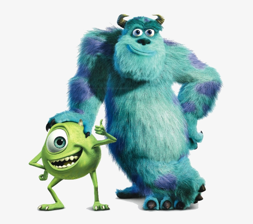 Wallpaper Titled Sulley And Mike Monsters Inc Transparent Png 500x500 Free Download On Nicepng