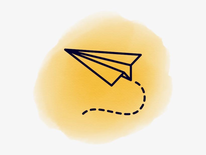 Landing Page 01 Aviao De Papel Desenho Transparent Png 600x600