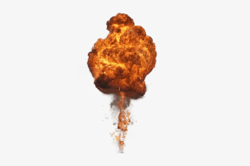 Free Png Big Explosion With Fire And Smoke Png Images - Explosion