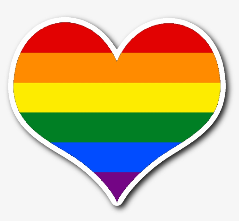 Rainbow Heart Sticker Transparent Png 1024x1024 Free Download On Nicepng