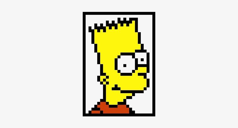 Bart Simpson Bart Simpson Pixel Art Transparent Png