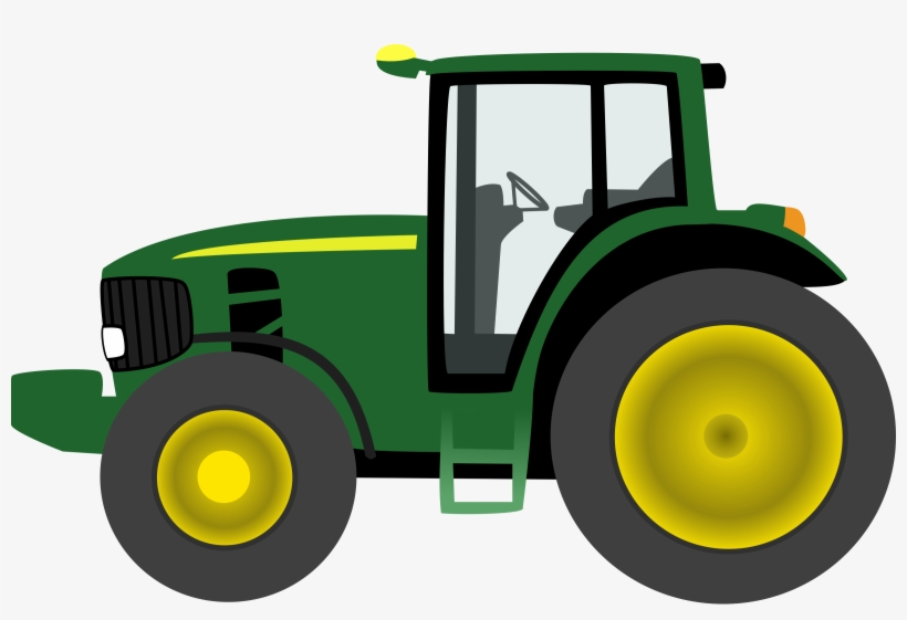 John Deere Green Tractor Clip Tractor Transparent Png 2400x1526 Free Download On Nicepng