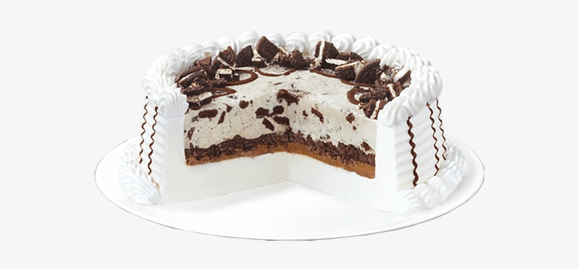 Remarkable Oreo Blizzard Cake By Dairy Queen Transparent Png 600X600 Free Personalised Birthday Cards Cominlily Jamesorg