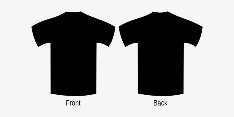 Blank Black Shirt Png Vector Stock