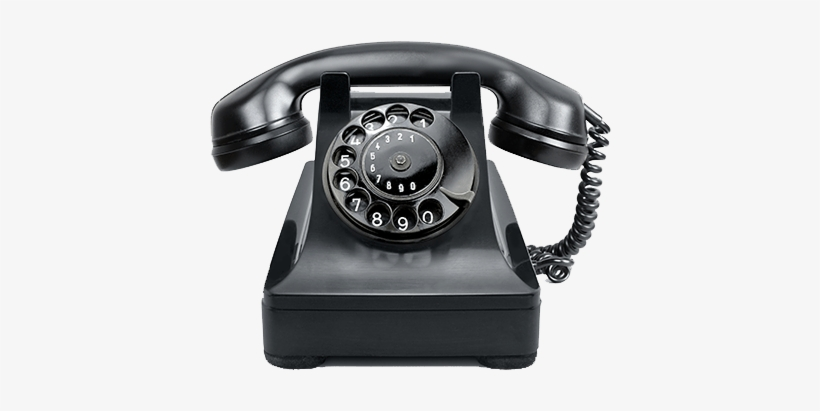 Old Telephone Png - Old School Phone Transparent Transparent