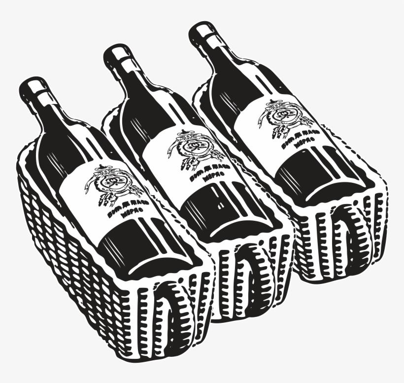 Bottle Of Wine Drawing At Getdrawings - Wine Bottle ...