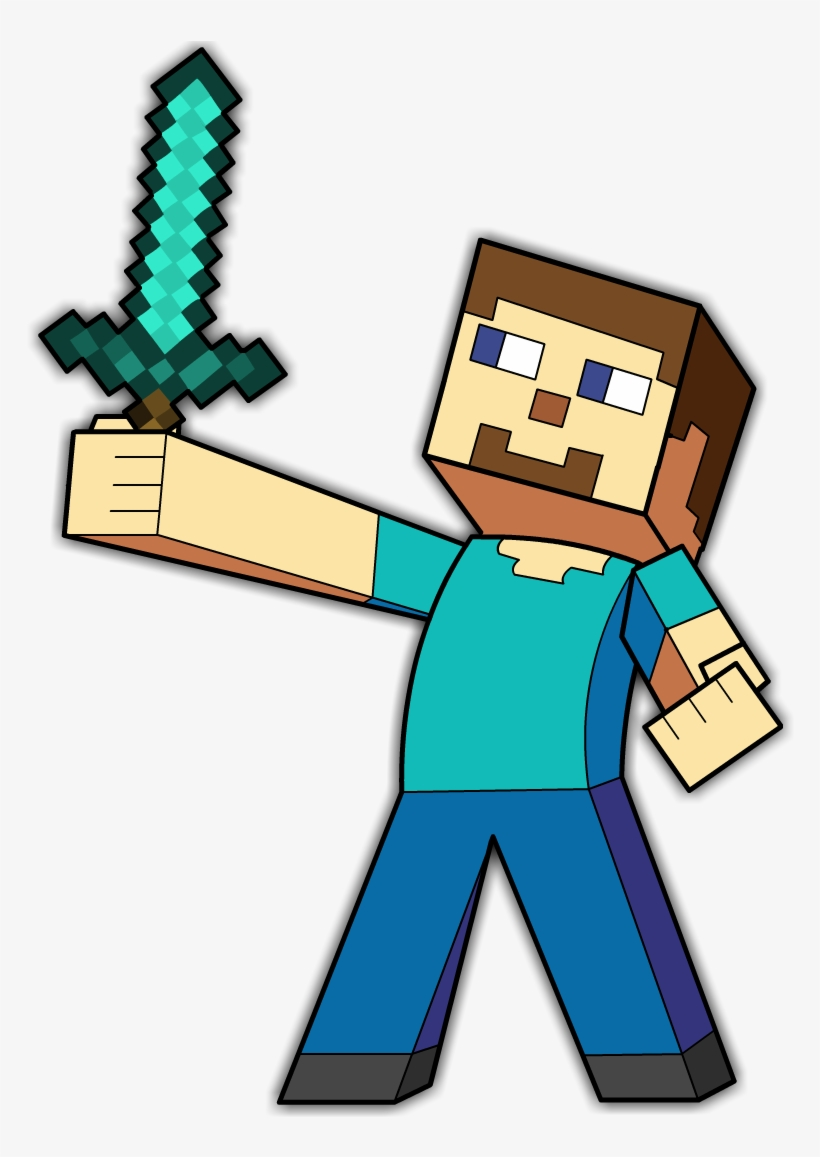 Minecraft Steve Minecraft Steve Png Art Transparent Png 1920x1080 Free Download On Nicepng