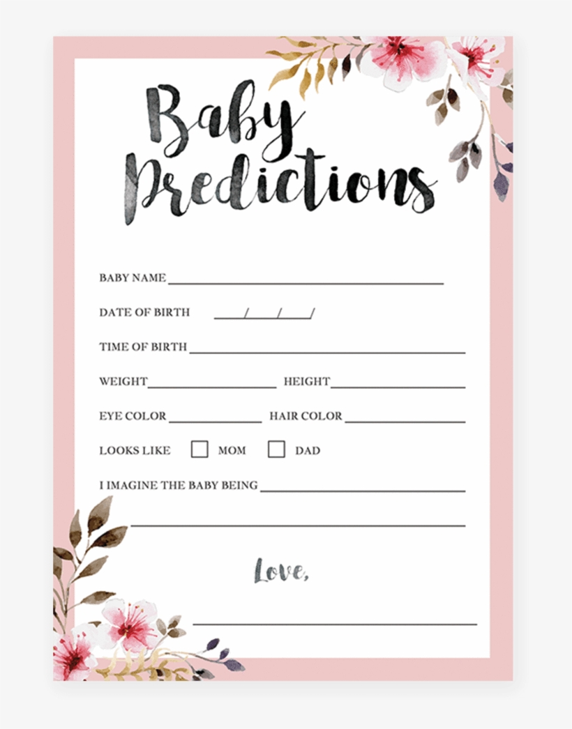 Girl Baby Shower Printables Wishes For Baby Watercolor Flower Baby Shower Invitation Transparent Png 819x1024 Free Download On Nicepng