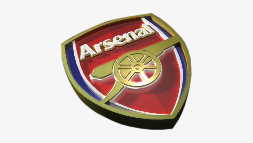 arsenal logo 3d png transparent png