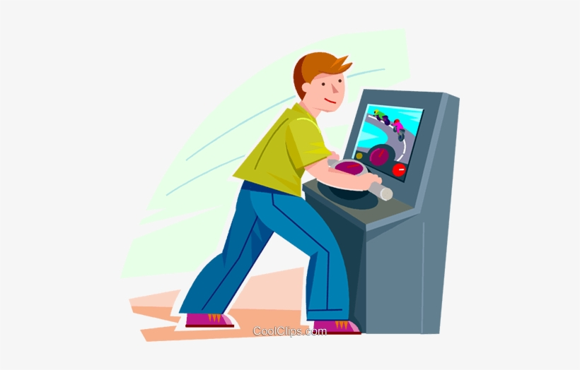 Boy Playing A Video Game Royalty Free Vector Clip Art Kids Playing Video Games Clipart Png Transparent Png 480x444 Free Download On Nicepng